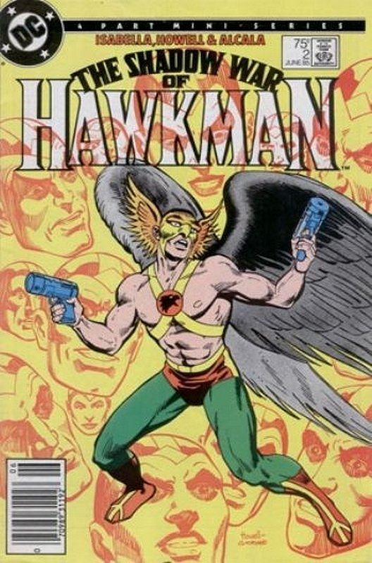 Cover of Hawkman (1985 Ltd) Shadow War of #2. One of 250,000 Vintage American Comics on sale from Krypton!