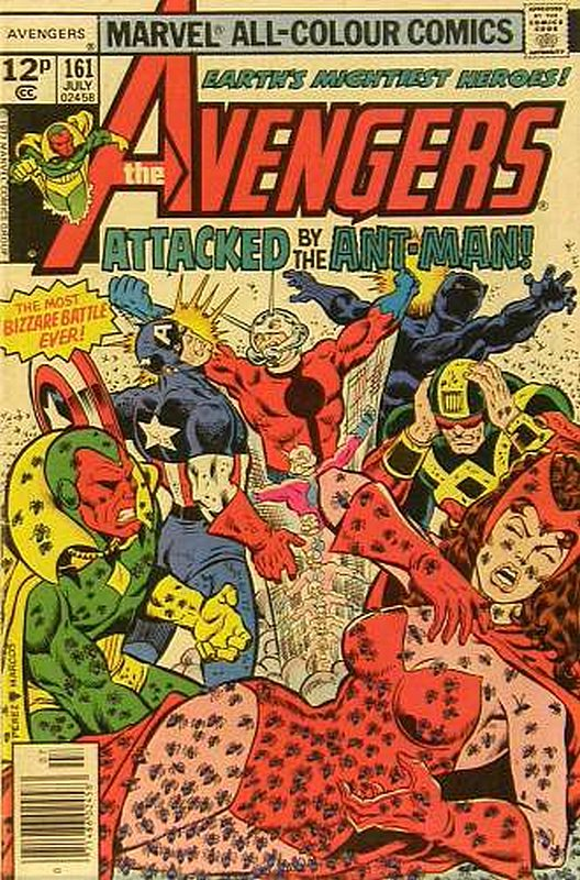 Cover of Avengers (Vol 1) #161. One of 250,000 Vintage American Comics on sale from Krypton!