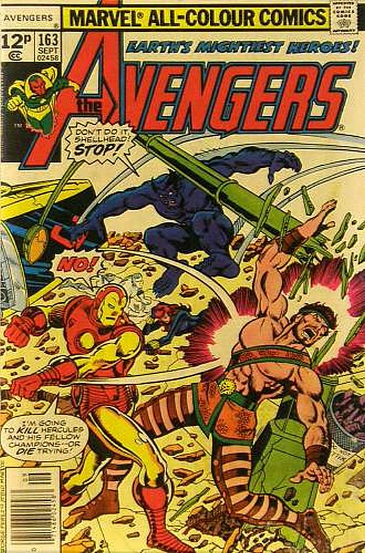 Cover of Avengers (Vol 1) #163. One of 250,000 Vintage American Comics on sale from Krypton!