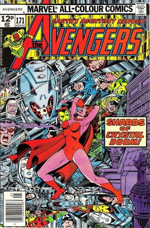 Cover of Avengers (Vol 1) #171. One of 250,000 Vintage American Comics on sale from Krypton!