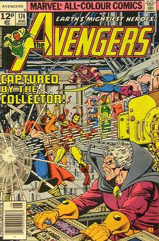 Cover of Avengers (Vol 1) #174. One of 250,000 Vintage American Comics on sale from Krypton!