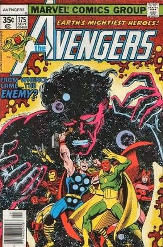 Cover of Avengers (Vol 1) #175. One of 250,000 Vintage American Comics on sale from Krypton!