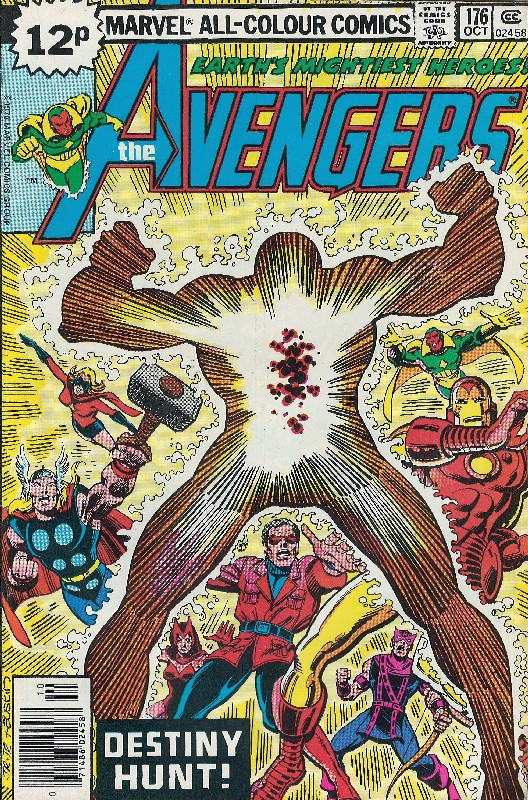 Cover of Avengers (Vol 1) #176. One of 250,000 Vintage American Comics on sale from Krypton!