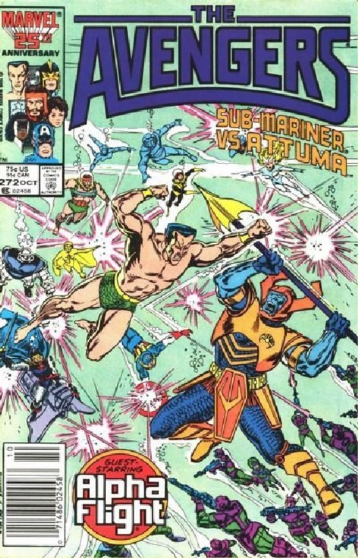 Cover of Avengers (Vol 1) #272. One of 250,000 Vintage American Comics on sale from Krypton!