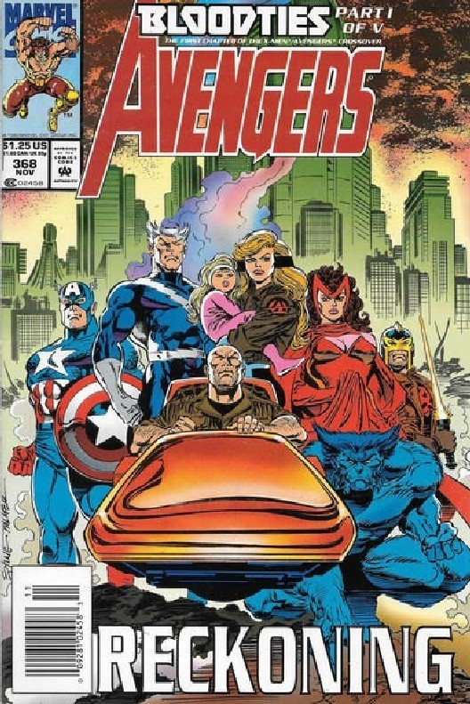 Cover of Avengers (Vol 1) #368. One of 250,000 Vintage American Comics on sale from Krypton!
